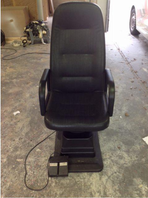 Refractor stoel electrisch