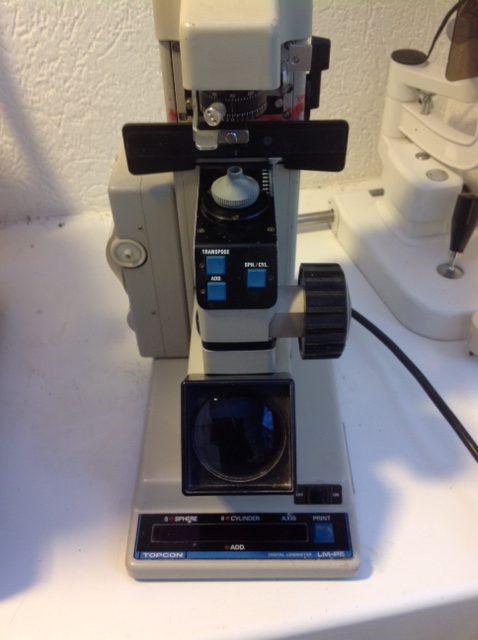 Topcon LM P5 lensmeter