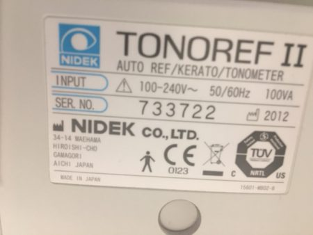 Nidek Tonoref.2
